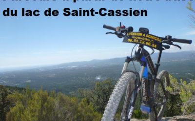 Lac de Saint Cassien – Lac de l'Avelan + les Adrets + Tour du mont Vinaigre